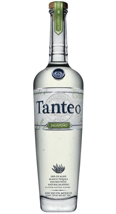 Bottle of Tanteo Jalapeño