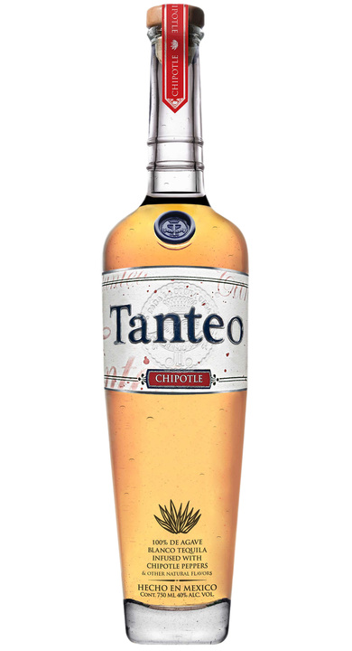 Bottle of Tanteo Chipotle