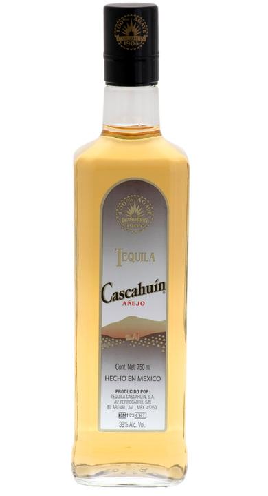 Bottle of Cascahuín Añejo