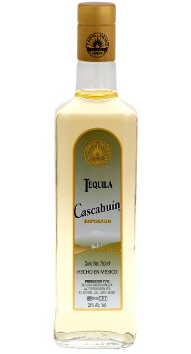 Bottle of Cascahuín Reposado