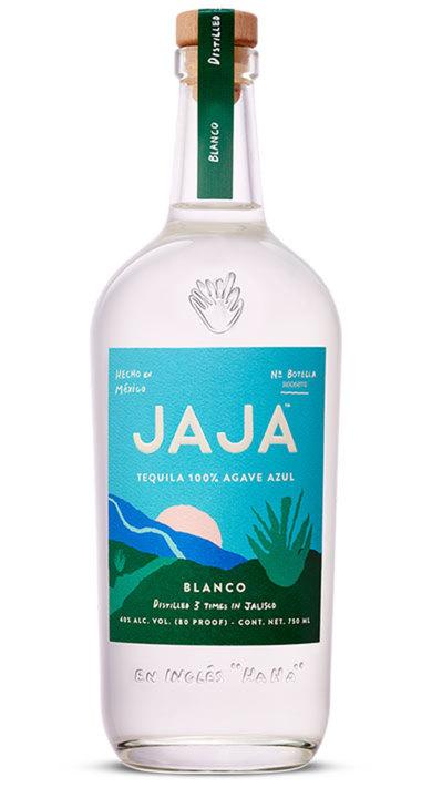 Bottle of JAJA Tequila Blanco