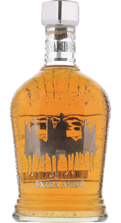 Bottle of 3 Amigos Extra Añejo