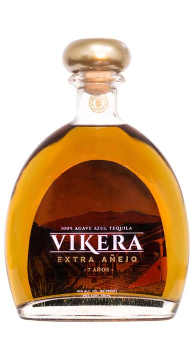 Bottle of Vikera Tequila Extra Añejo