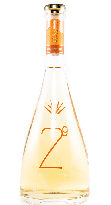 Bottle of 29 Tequila Reposado