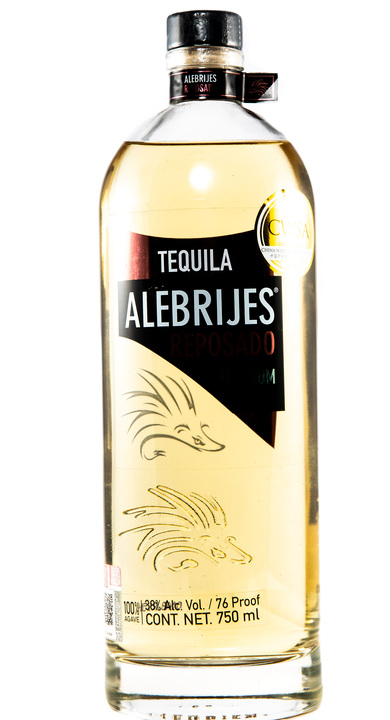 Bottle of Alebrijes Reposado