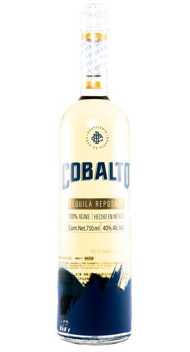 Bottle of Cobalto Tequila Reposado
