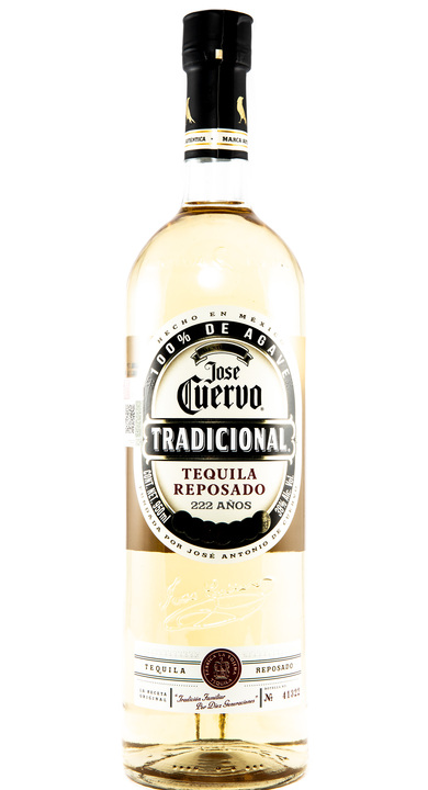 Bottle of Jose Cuervo Tradicional Reposado
