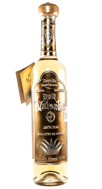 Bottle of Don Valente Reposado
