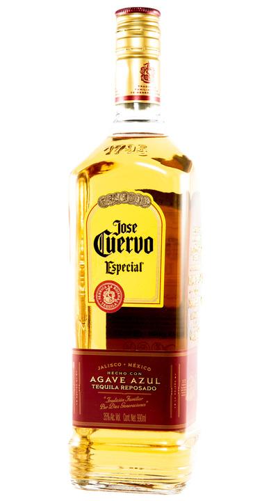 Bottle of Jose Cuervo Especial Reposado