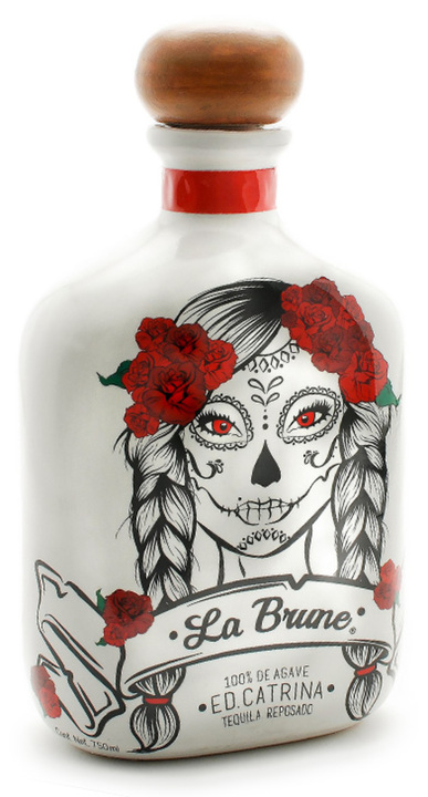 Bottle of La Brune Reposado (Catrina Ed.)