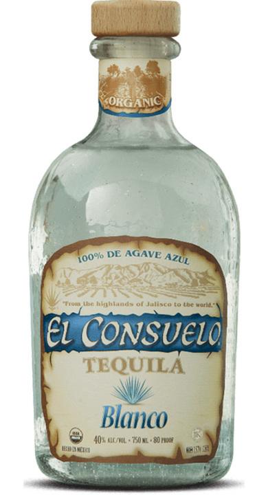 Bottle of El Consuelo Blanco