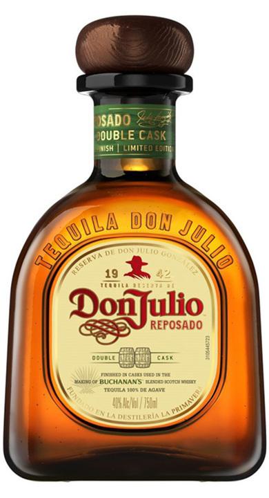 Bottle of Don Julio Double Cask Reposado