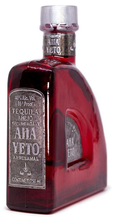 Bottle of Aha Yeto Añejo