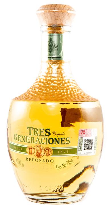 Bottle of Tres Generaciones Reposado