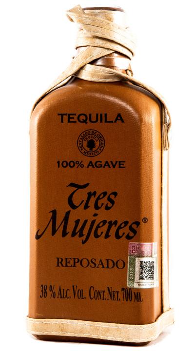 Bottle of Tres Mujeres Reposado