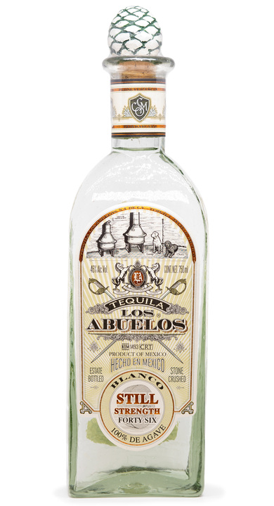 Bottle of Los Abuelos Blanco (Still Strength)