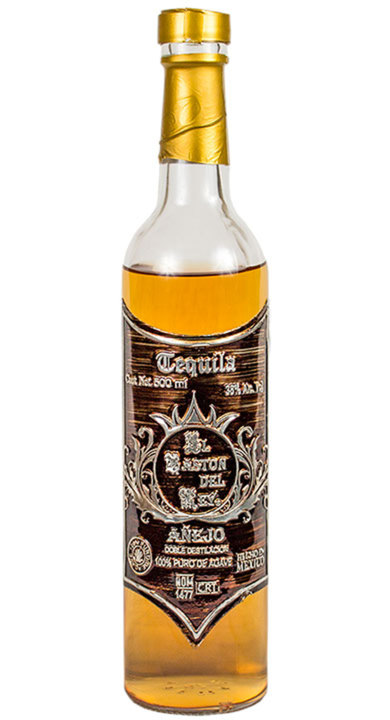 Bottle of El Baston del Rey Añejo