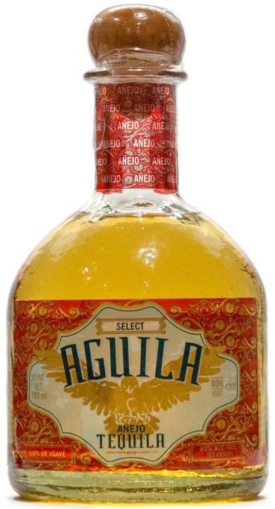 Bottle of Aguila Añejo