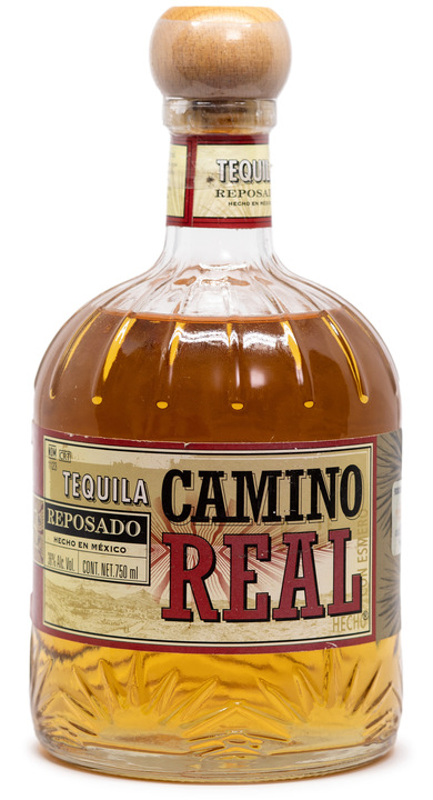 Bottle of Tequila Camino Real Reposado (NOM 1123)
