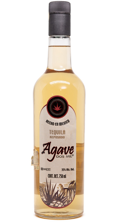 Bottle of Agave Dos Mil Tequila Reposado