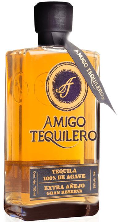 Bottle of Amigo Tequilero Extra Añejo Gran Reserva