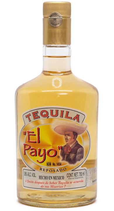 Bottle of El Payo Reposado