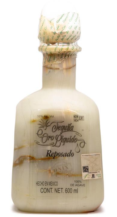 Bottle of Oro Liquido Tequila Reposado