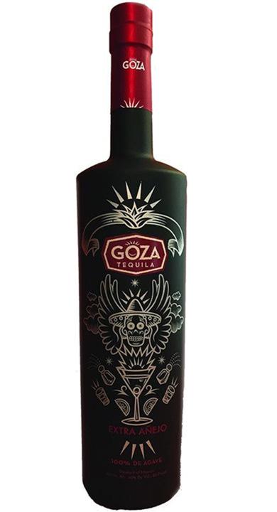 Bottle of Goza Tequila Extra Añejo