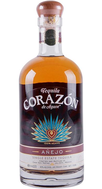 Bottle of Corazon Single Estate Añejo