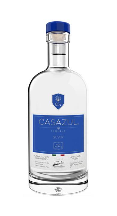 Bottle of Casazul Tequila Silver