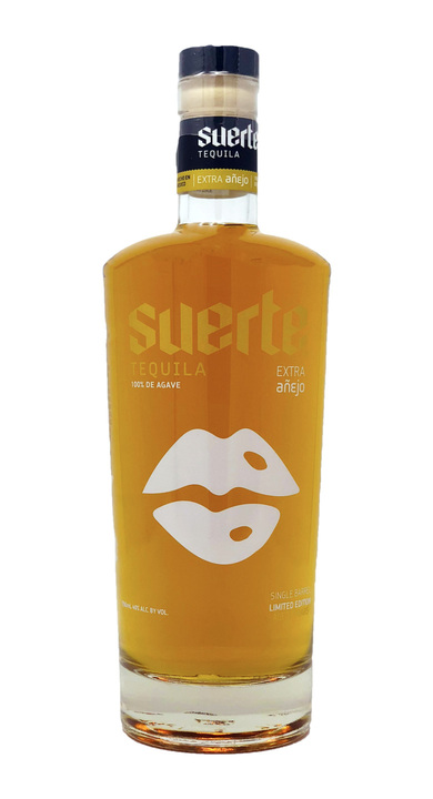Bottle of Suerte 8 Year Extra Añejo