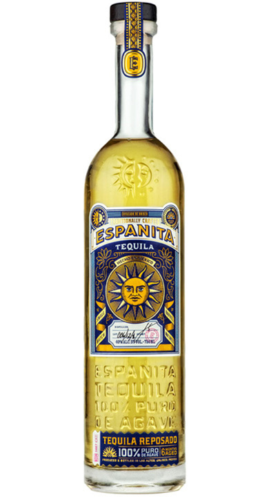 Bottle of Espanita Tequila Reposado