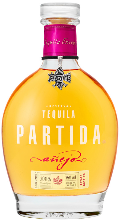 Bottle of Partida Añejo