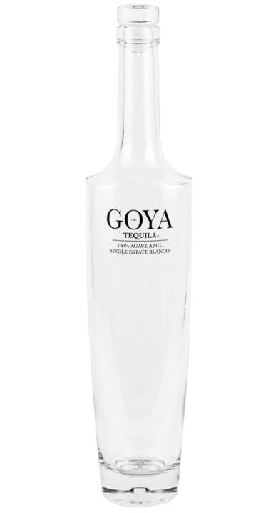 Bottle of Goya Tequila Blanco