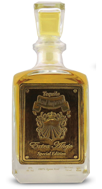 Bottle of Azul Imperial Extra Añejo