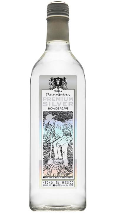 Bottle of Bandístas Premium Silver