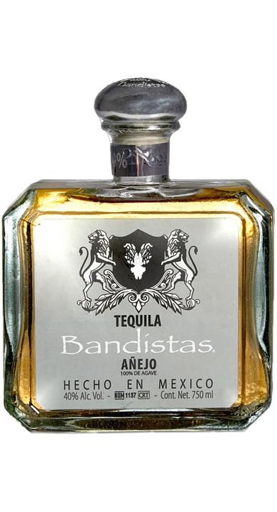 Bottle of Bandístas Añejo