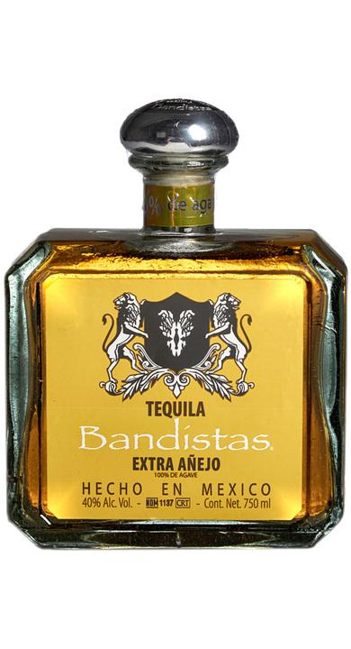 Bottle of Bandístas Extra Añejo