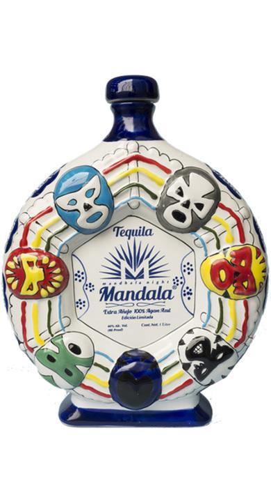 Bottle of Mandala Extra Añejo Lucha Libre (7 year)