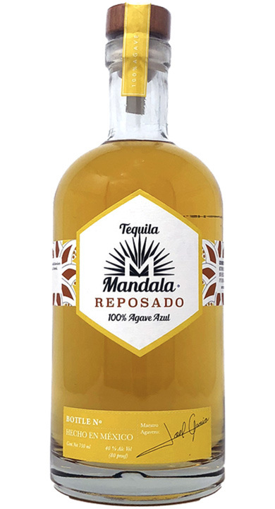 Bottle of Mandala Reposado