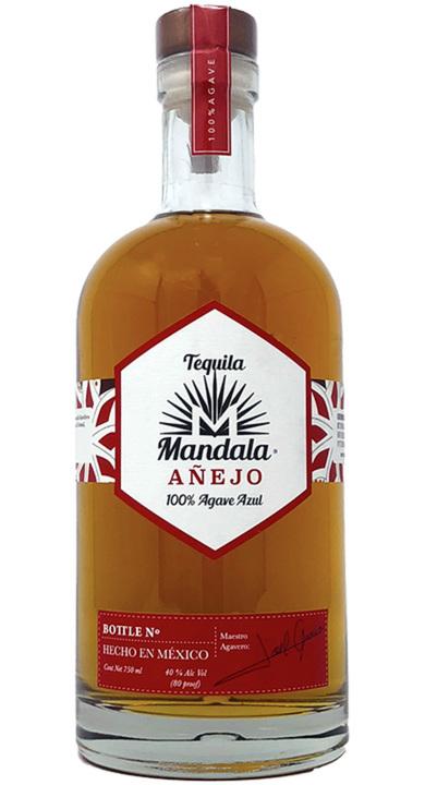 Bottle of Mandala Añejo