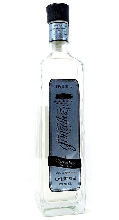 Bottle of Reserva de Los Gonzalez Extra Añejo Cristalino