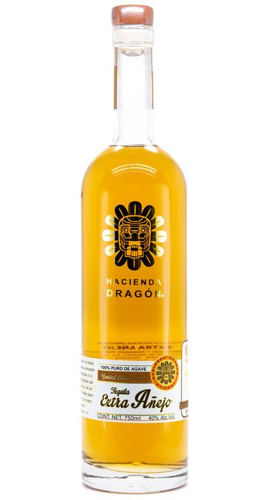 Bottle of Hacienda Dragon Extra Añejo