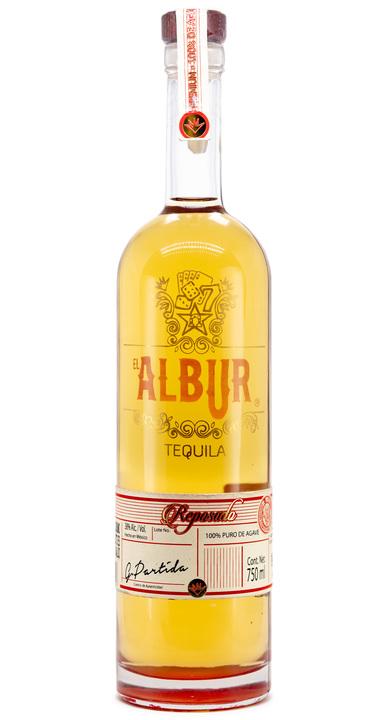 Bottle of El Albur Tequila Reposado