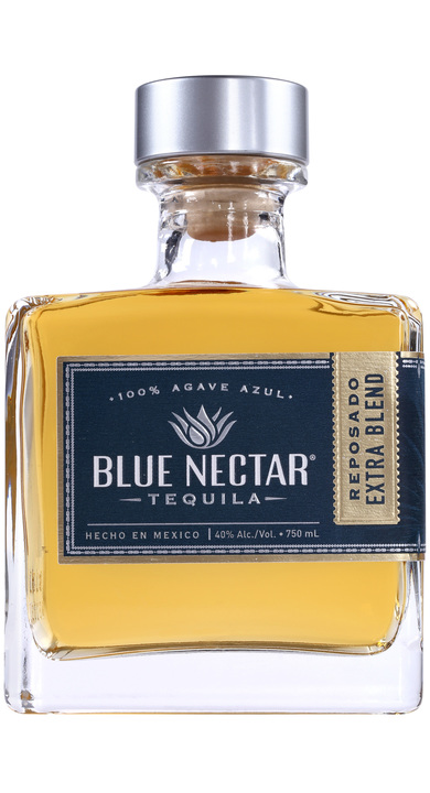 Bottle of Blue Nectar Reposado Extra Blend