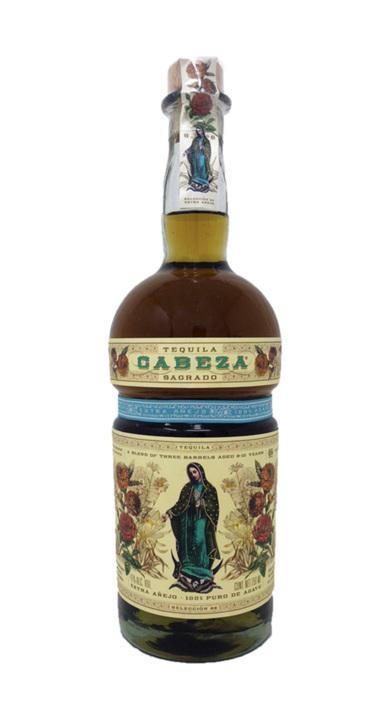 Bottle of Tequila Cabeza Sagrado Extra Anejo