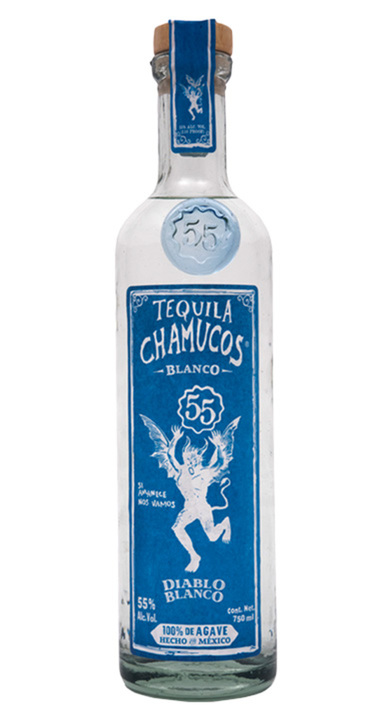 Bottle of Chamucos Diablo Blanco