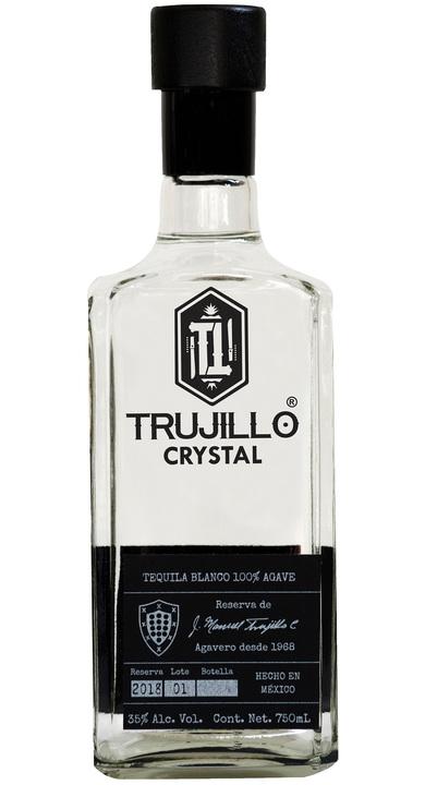 Bottle of Trujillo Crystal Blanco
