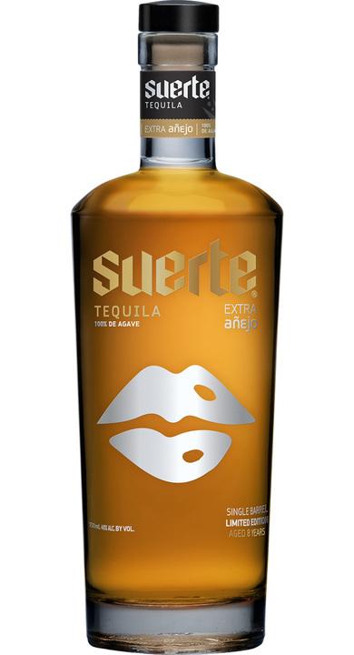 """Bottle of Suerte 8-year Extra Añejo 2018 """"Lucky Lips"""""""