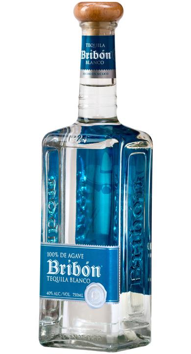 Bottle of Bribón Tequila Blanco